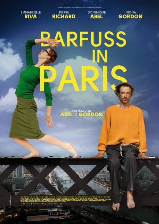 Barfuß in Paris