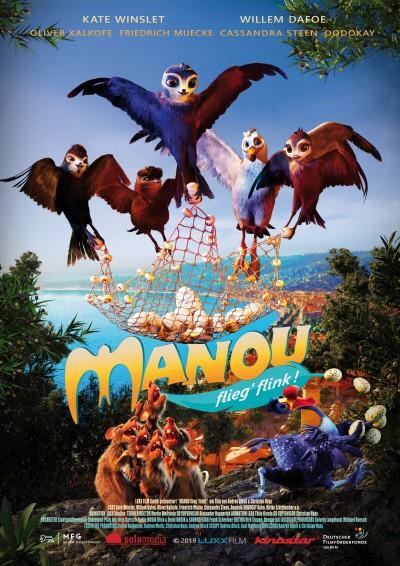 Manou - fliegt flink!