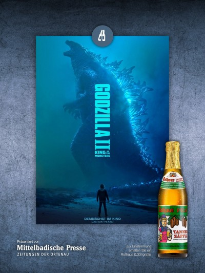 Männersche: Godzilla 2