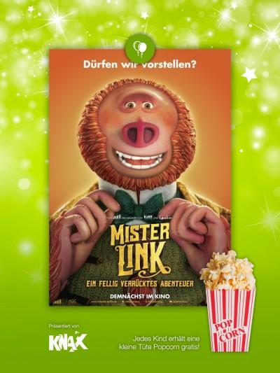 Kids Preview: Mister Link - Ein fellig verrücktes Abenteuer